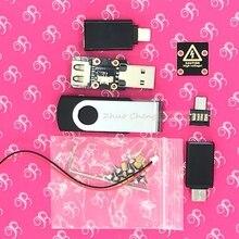 USB killer V3.0 grawerowana wersja U disk killer miniaturowy generator impulsów wysokiego napięcia