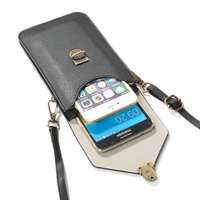6 3 Phone Bag Universal PU Leather Pouch Crossbody Small Bags For Microsoft Nokia Lumia 430