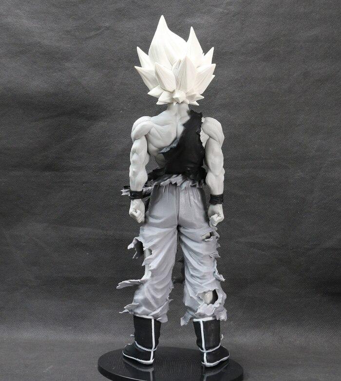 3063 6 De Réductionnouvelle Figurine Dragon Ball Z Super Saiyan Fils Goku Gokou Noir Blanc Couleur Banpresto Super Maître étoiles Pièce énorme