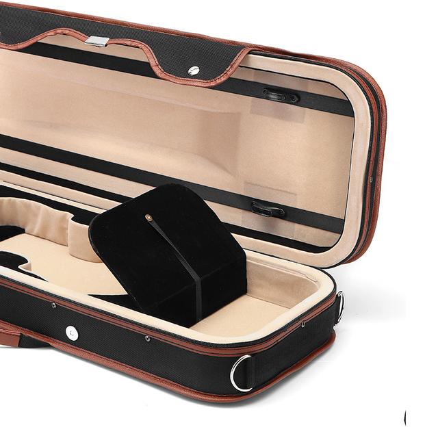 Elegant Violin Box Case with Hydrometer