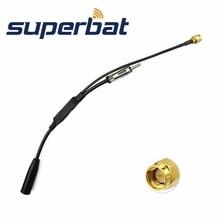 Superbat DAB+ антенна сплиттер усилитель адаптер кабель SMA штекер разъем для автомобиля Pionner Kenwood радио активный