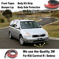 Car Bumper Lips For KIA Carnival R / Sedona / For Car Tuning / Body Kit Strip / Front Tapes / Body Chassis Side Protection