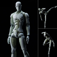 SHFiguarts Heavy Industries Synthetic Human 1 6 Scale Action Figure Collectible Model Toy 28cm