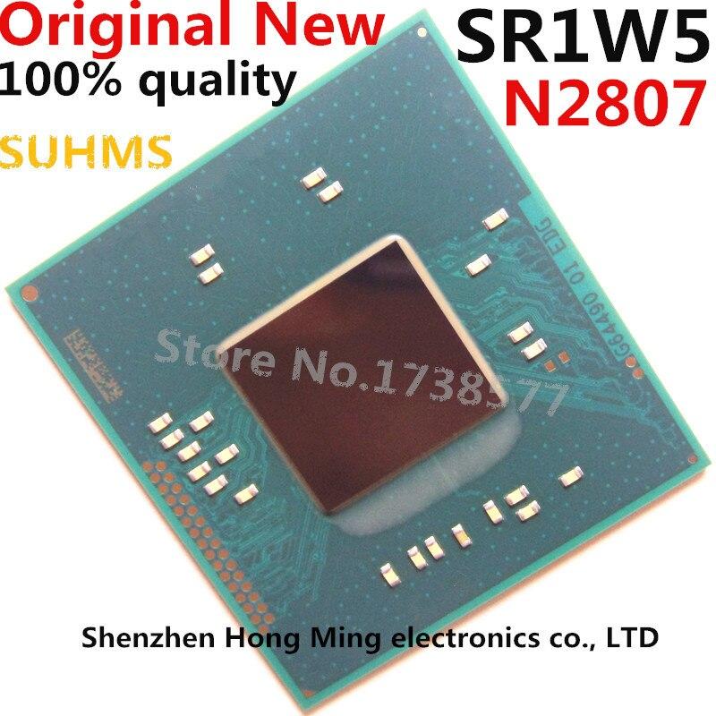 100% Nouveau SR1W5 N2807 Chipset BGA100% Nouveau SR1W5 N2807 Chipset BGA