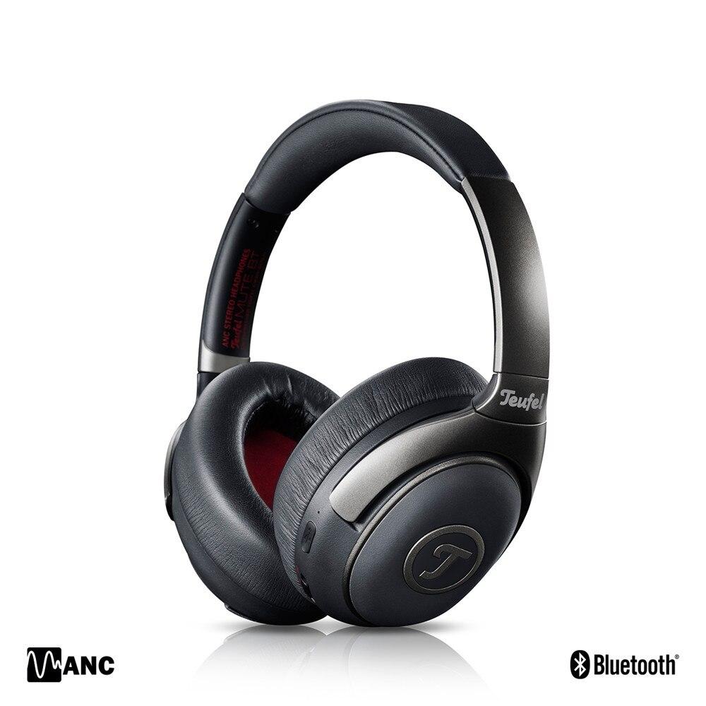 Originale Teufel MUTE BT Bluetooth Attiva del Rumore Che Annulla la Cuffia Chiuso HD Supporto aptX Wireless ANC Auricolare