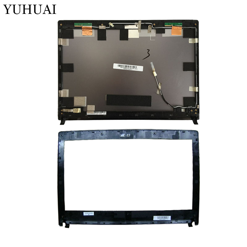New laptop cover For Asus U30JC U30J U30 U30SD LCD Back Cover/LCD front bezel 13GNXZ1AM044-1 new laptop lcd display front screen back cover bezel
