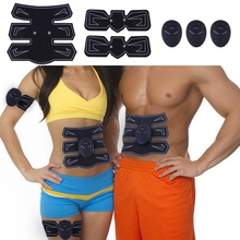 Muscle Trainer Ems Belly Sticker Abdominal Training Belt Fitness ToolsF