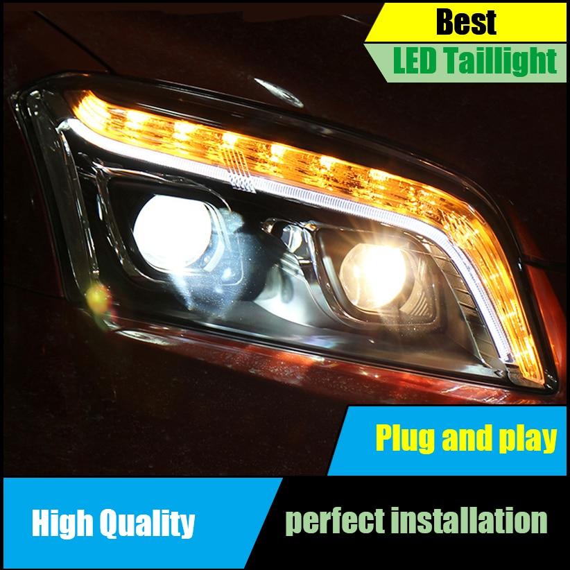 Car styling Head Lamp For Chevrolet Trax headlights 2014 2015 2016 led drl HID KIT Bi-Xenon Lens low beam headlight Assembly