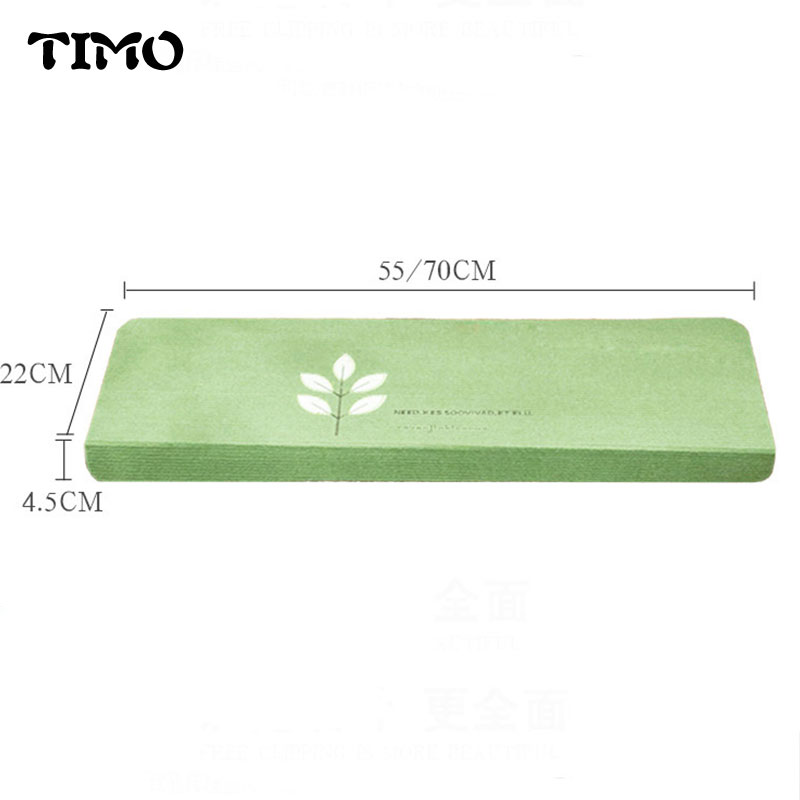 TIMO Stair Carpet Step Pad Bape Mat Warm Anti-slip Glue Area Rug Luminous Clover Carpet For Living Room Alfombras Tapis
