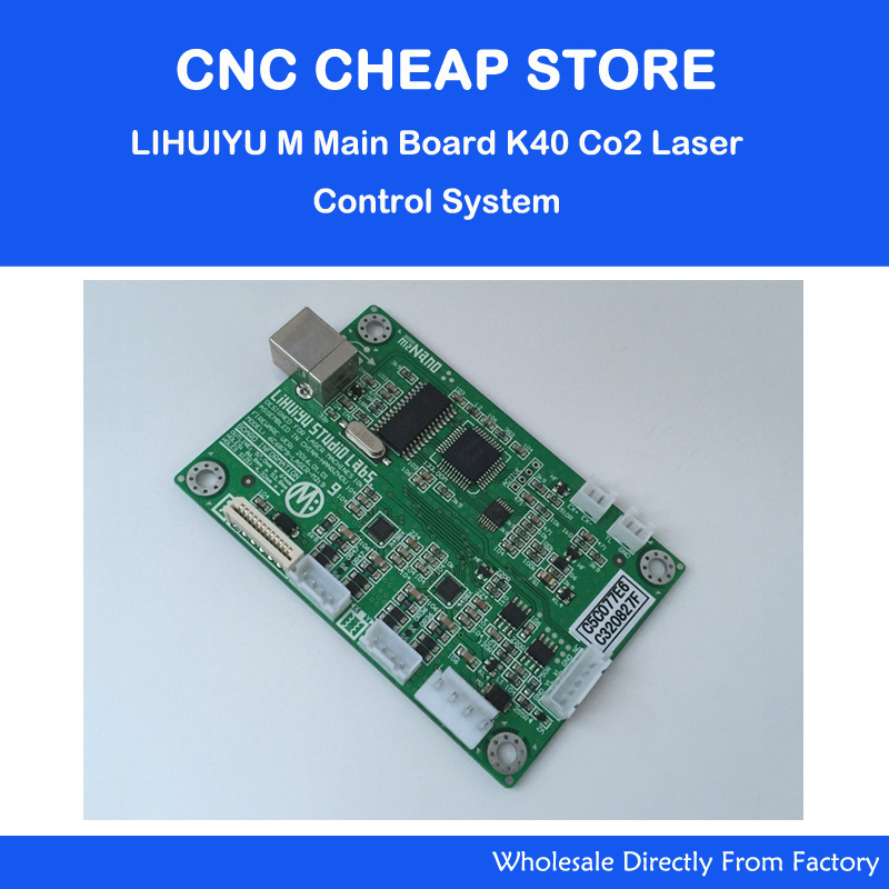 1pc LIHUIYU Nano Main Mother Board M2 Co2 Laser Stamp Engraving Cutting K40 Control System DIY Mini Engraver 3020 Controller-in Woodworking Machinery Parts from Tools