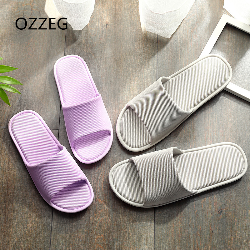 Home Slippers Indoor Floor Shoes Silent Sweat Slippers For Summer Women Sandals Slip On Bath Slippers Couple Shoes Soft Slip On millffy 2018 new summer sweet ladies shoes pink girl home slippers cotton indoor slip on knot stripe slippers