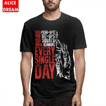 Every Single Day Tee For Man Graphic Short Sleeve O-neck Plus Size T Shirt Fashionable Top design plus sequin sleeve graphic tee