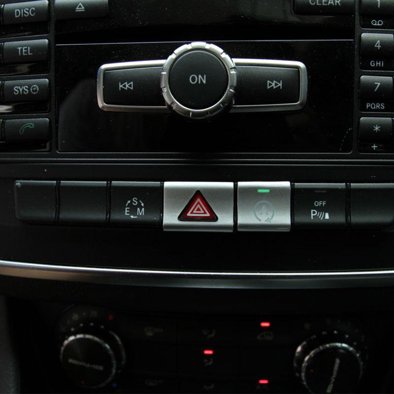 Car Styling CD Panel Center Console Button պլաստիկ - Ավտոմեքենայի ներքին պարագաներ - Լուսանկար 4