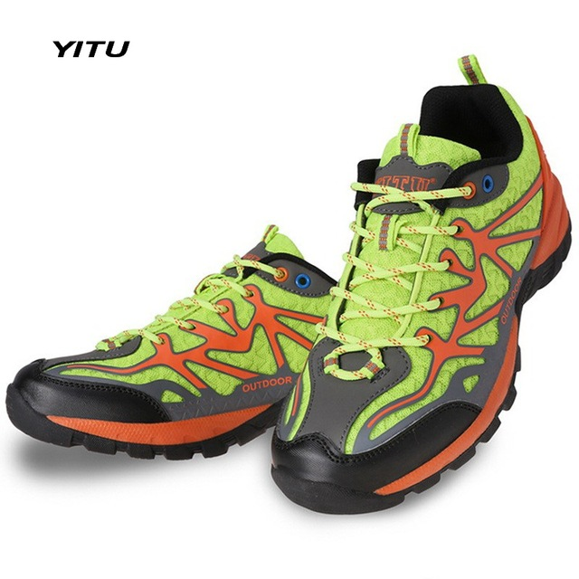 YITU 2017 Primavera Estate Prezzo Basso Scarpe Da Trekking Uomo Donna  Walking Sport Outdoor Confortevole e1e0f53f6bc