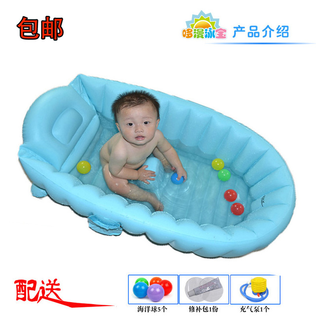 Oversized Small baby swimming pool infant inflatable bathtub baby ...