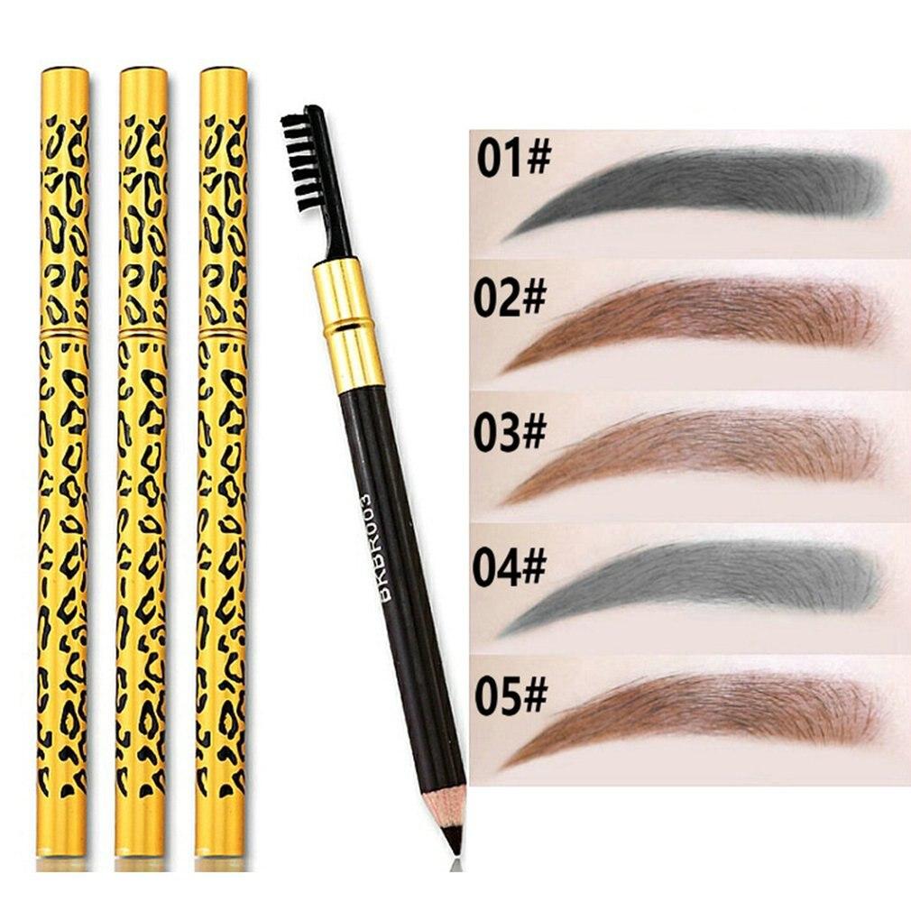 1 Pcs Eyebrow Pencil Makeup 5 Colors Paint for Eyebrows ...