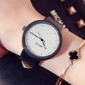 НОВЫЙ GIMTO Творческий Часы Женщины Кожа Кварцевые Мода Повседневная Женщины Часы Женские Дамы Старинные Наручные Часы Montre Роковой Relogio
