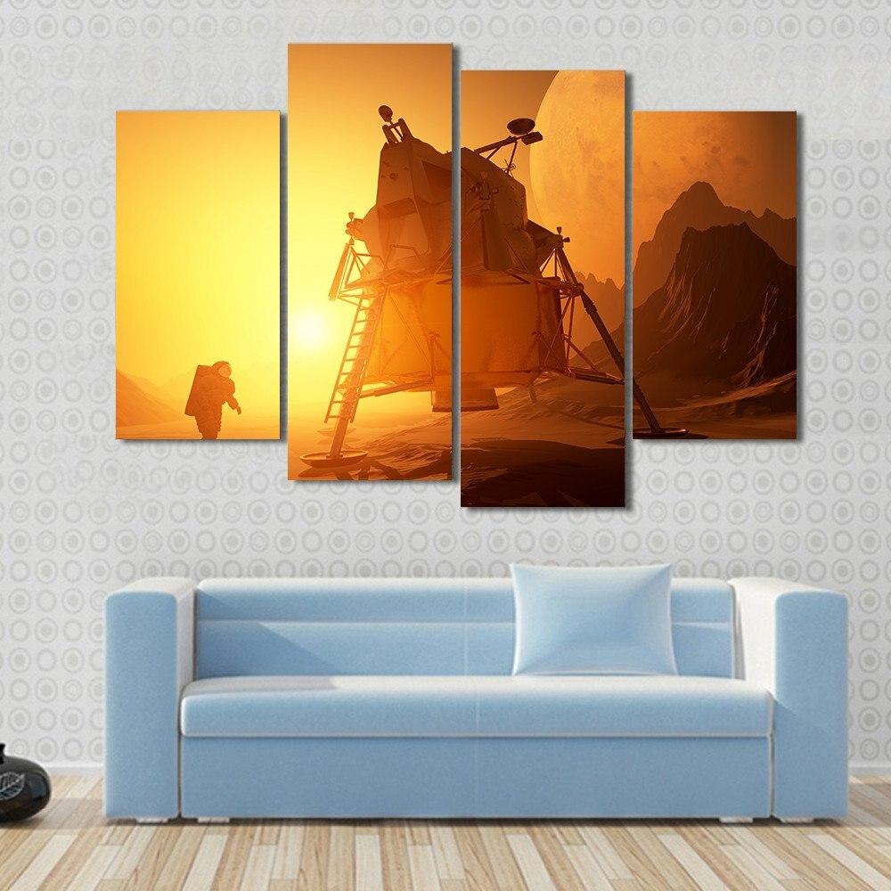 Online Get Cheap Space Wall Art Astronaut Aliexpresscom - Astronaut decorations