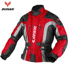 DUHAN Motocross Equipment Gear Cotton Underwear Cold proof Moto font b Jacket b font Men s