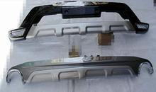 2012-2013 for Mazda CX-5 High quality plastic ABS Chrome Front+Rear bumper cover trim,