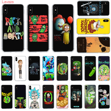 Lavaza Rick and morty A mini Reality Hard Phone Case for Apple iPhone 6 6s 7 8 Plus X 5 5S SE for iPhone XS Max XR Cover мфу canon pixma ts6240