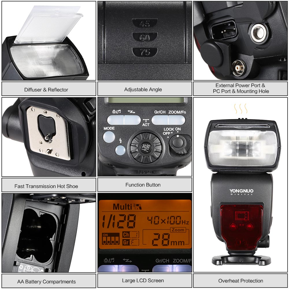 YONGNUO-YN660-2-4G-Wireless-Transmission-Transceiver-Master-Slave-Speedlite-Flash-For-Nikon-Canon-Pentax-DSLR (4)