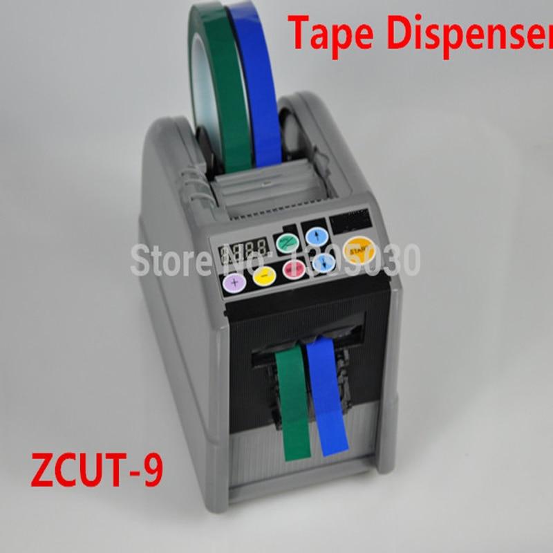 4PCS/Lot ZCUT-9 Automatic Cutter Cutting Machine Tape Dispenser Micro-computer Electronic 110V 1pc automatic cutter cutting machine tape dispenser micro computer electronic 110v zcut 9