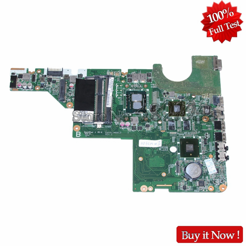 NOKOTION DAAX1JMB8C0 Laptop Motherboard For HP Pavilion G62 CQ62 i3-370M CPU 637584-001 Mainboard HM55 HD6370M DDR3 nokotion 653087 001 laptop motherboard for hp pavilion g6 1000 series core i3 370m hm55 mainboard full tested