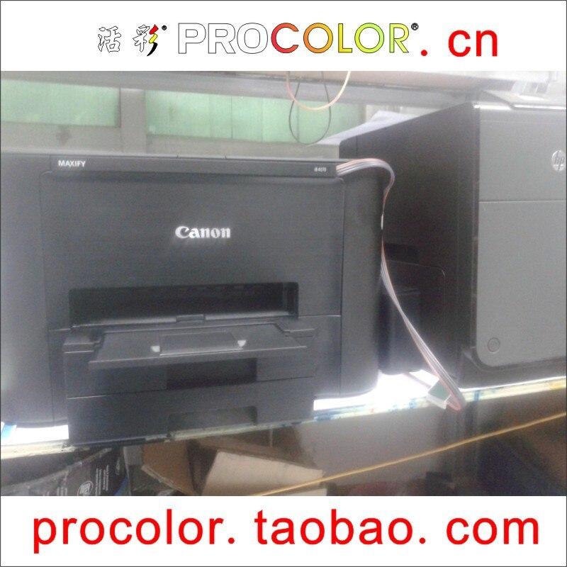 PROCOLOR newest 2015 hot PGI-2400 PGI-2400XL BK C M Y CISS for CANON MAXIFY iB4040 iB 4040 MB 5040 5340  MB5040 MB5340 картридж для струйных аппаратов canon pgi 2400xl c для maxify ib4040 мв5040 и мв5340 голубой 9274b001 9274b001