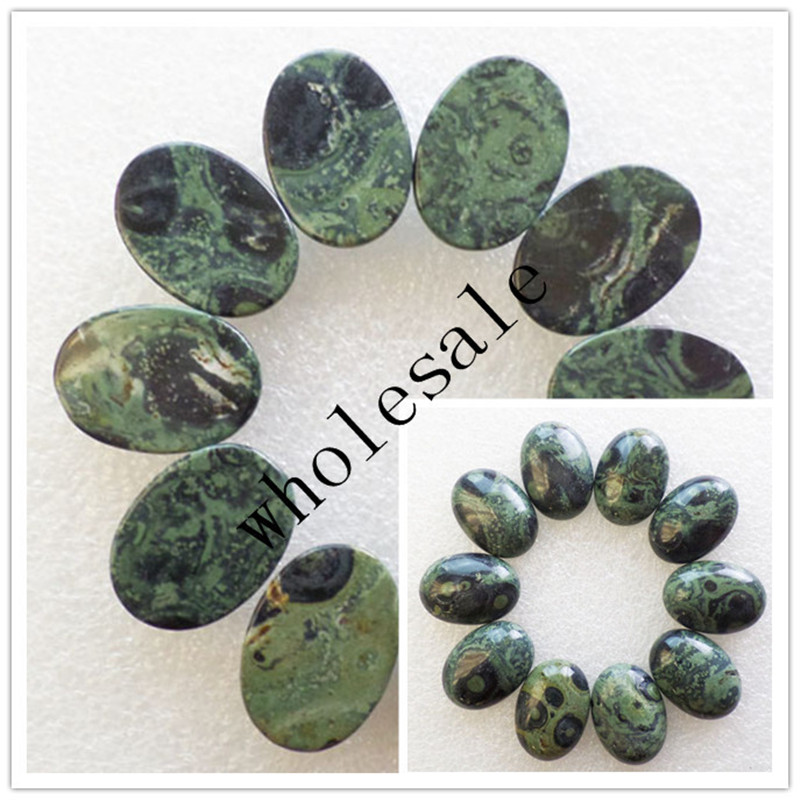 (12 pieces/lot) Wholesale High Quality Natural Kambaba Jaspers Oval CAB Cabochon for jewelry Accessories 18X25X6mm Free Shipping