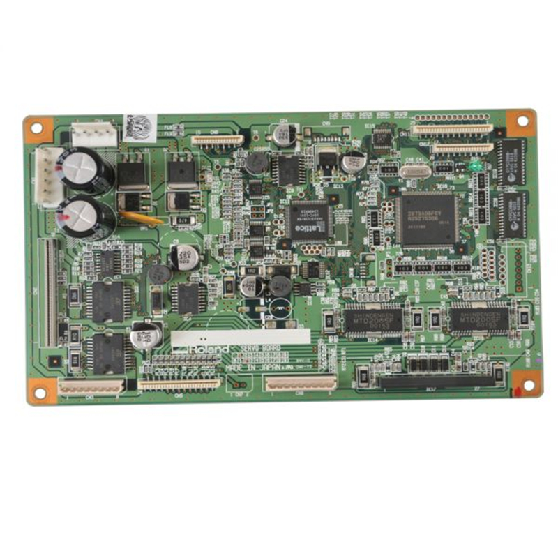 Original Roland SP-540V / FLJ-300 / SP-300V / SP-540V Servo Board -7840605600 new original xc e8ad h 14bit 8 ai anti interference plc expansion modules