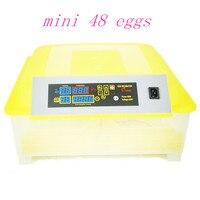 New Design Fully Digital Mini 48 Eggs Incubator Chicken Duck High Quality Egg Hatchery Machine Fully