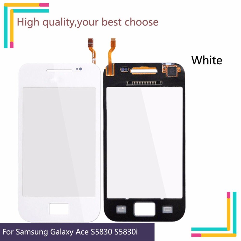 3.5″ New S5830 touch screen For Samsung Galaxy Ace S5830 S580i GT-S5830 GT-S5830i TouchScreen Sensor Digitizer Glass Lens Front