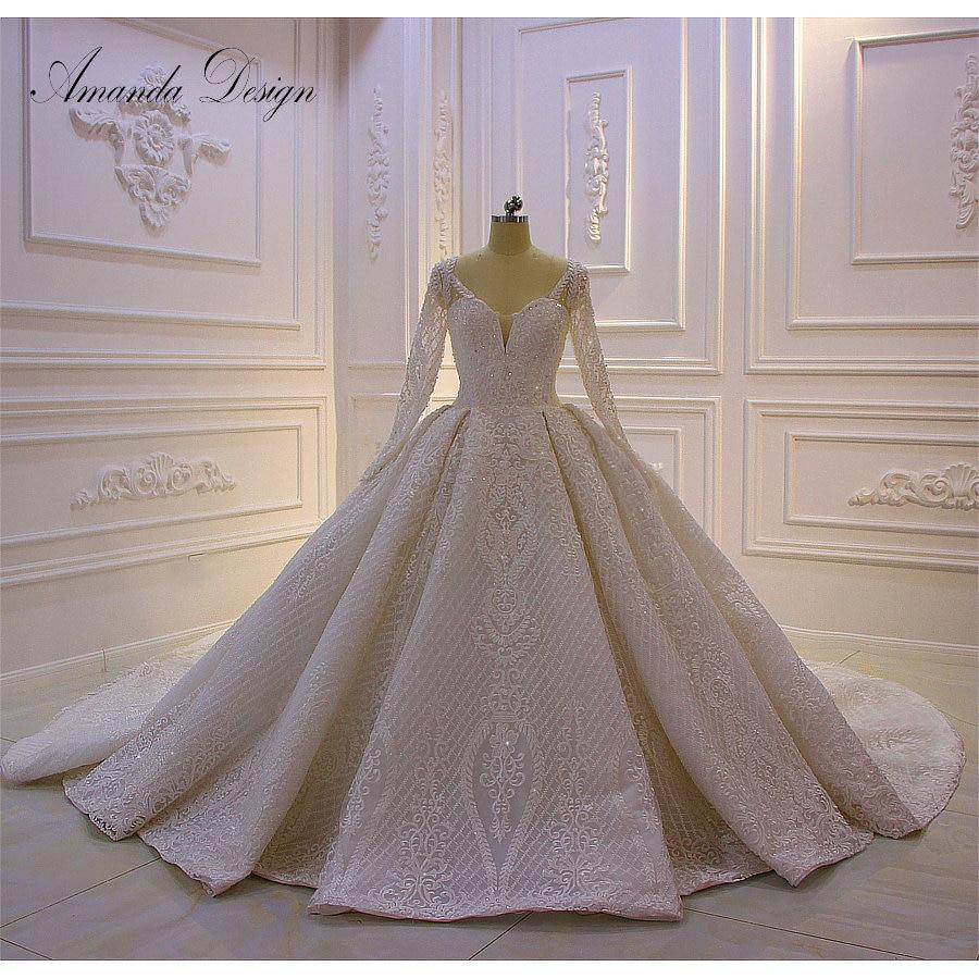 Amanda Design robe mariage 2019 Long Sleeve