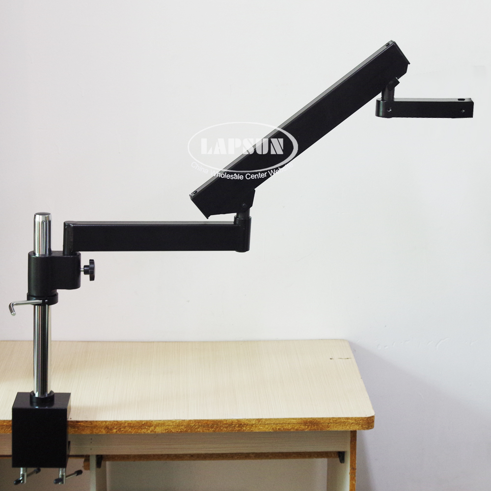 Long Arm Heavy Duty Boom Large Stereo ARTICULATING Clamp Table Stand Support Four Arms System For