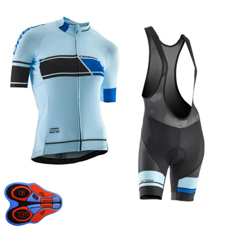 2018 Orbea Pro Team Cycling Jersey Women Set mujer Short Sleeve Summer MTB Bike Clothing Ropa Ciclismo Bib Shorts 9D Gel Pad B23