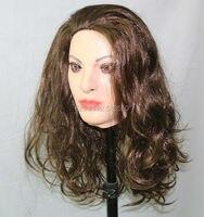Halloween Cosplay Costume Latex Crossdressing Female Mask For Male Transgender Dress Up