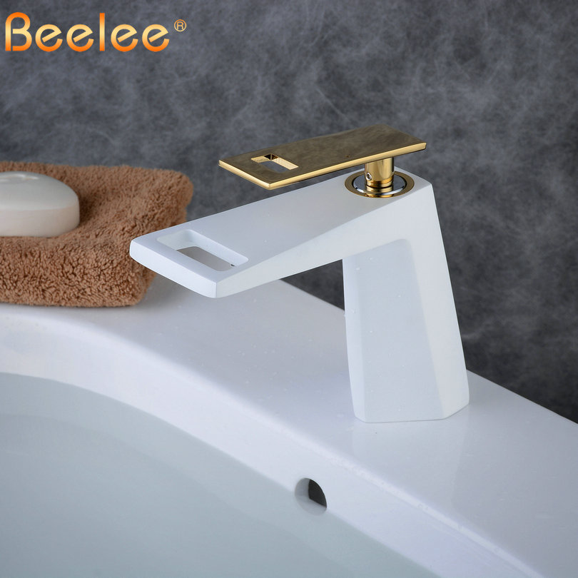 Bathroom Taps Waterfall Sink Faucet Mixer Faucet Top Sink Tap Mono Basin Mixer Faucet Cloakroom Faucets