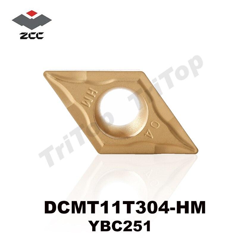 Original Zcc Tool Dcmt 11t304 Hm Ybc251 10 Insertsbox Zccct