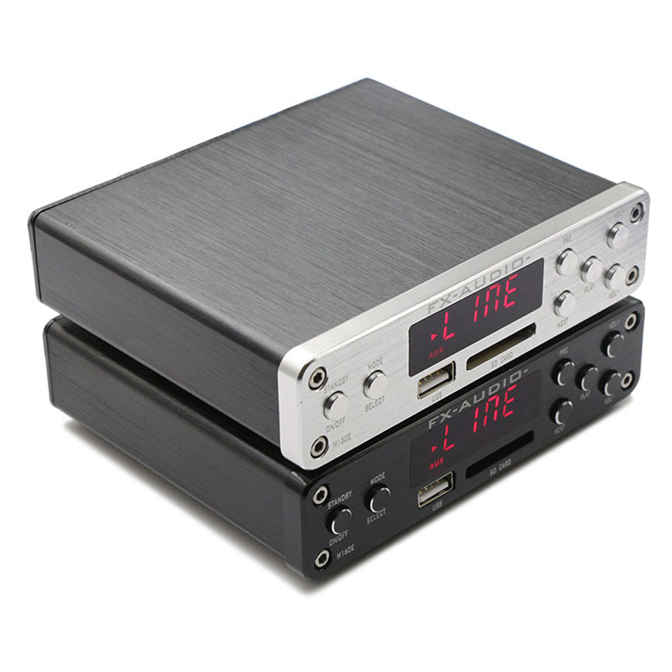 FX-Audio M-160E Bluetooth 4.0 Digital Audio Amplifier Input USB/SD/AUX/PC-USB Loseless Player For APE/WMA/WAV/FLAC/MP3 160W*2 fx audio m 160e bluetooth 4 0 digital audio amplifier 160w 2 input usb sd aux pc usb loseless player for ape wma wav flac mp3
