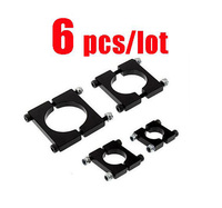 6pcs Lot Tube Clamp Clips Carbon Fiber Pipe Clamps Spare Parts For QAV RC Drone Kvadrokopter