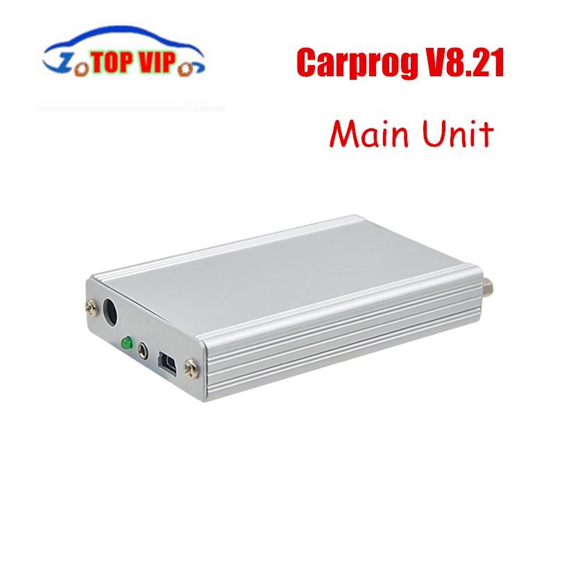 Горячие!! Carprog Полный В8.21 основного блока только Прошивка подходит онлайн версии, в том числе гораздо более Разрешение бесплатная доставка