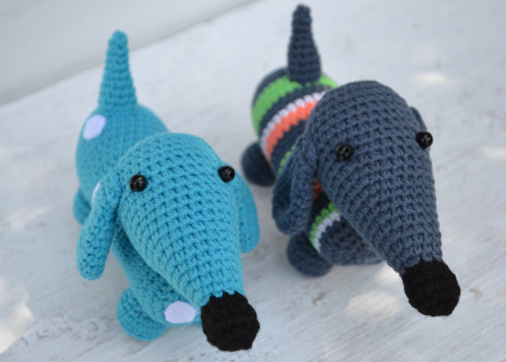 100 Amigurumi Crochet Dogs Patterns - Amigurumi PRO | 408x570