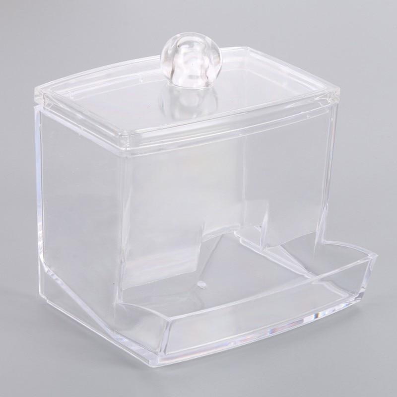 Storage Holder Makeup Storage Box Portable Cotton Pads Container