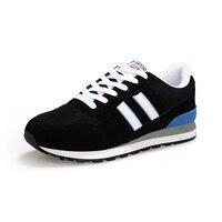 Spring Korean Men S Shoes Outdoor Breathable Leisure Casual Shoes Non Slip Black 10