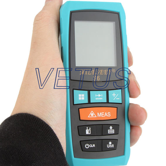 S6 80m 4-line display low price distance meter with backlight ds202 low price pocket oscilloscope with color display