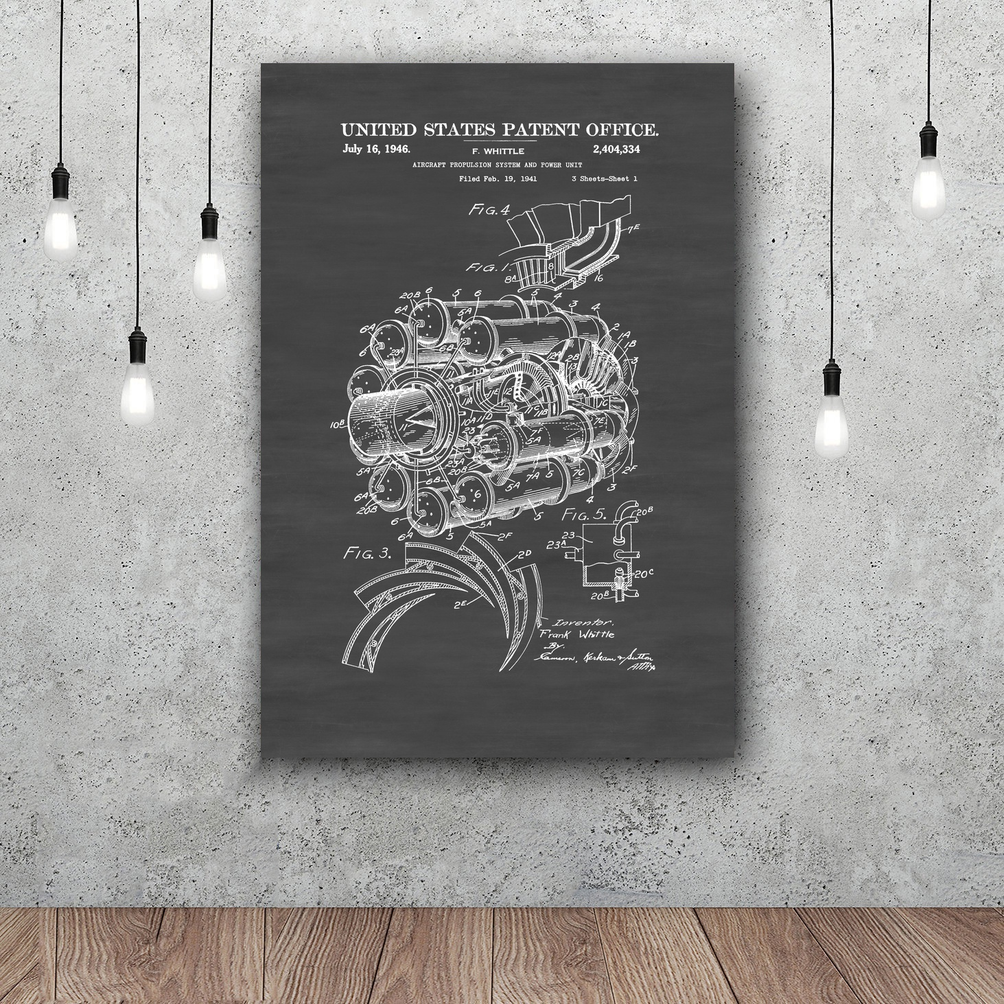 Blueprint for black power copy aircraft propulsion patent art silk blueprint for black power copy aircraft propulsion patent art silk poster home decor 12x18 24x36inch in painting calligraphy from home garden on malvernweather Gallery