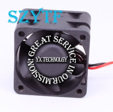 3-wire 40*40*28 4028 4cm PMD1204PQB1-A double ball bearing 12V 4W Server fan alarm