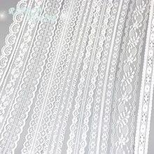 (5 ярдов/рулон) белая кружевная ткань тонкая лента для украшения упаковка Материал каркаса оптовая продажа-in Кружева from Дом и сад on Aliexpress.com | Alibaba Group