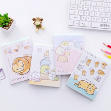 Buy Sumikko Gurashi notebook Cartoon diary book Mini portable memo pad planner Kids gift Stationery Office School supplies A6472 directly from merchant!